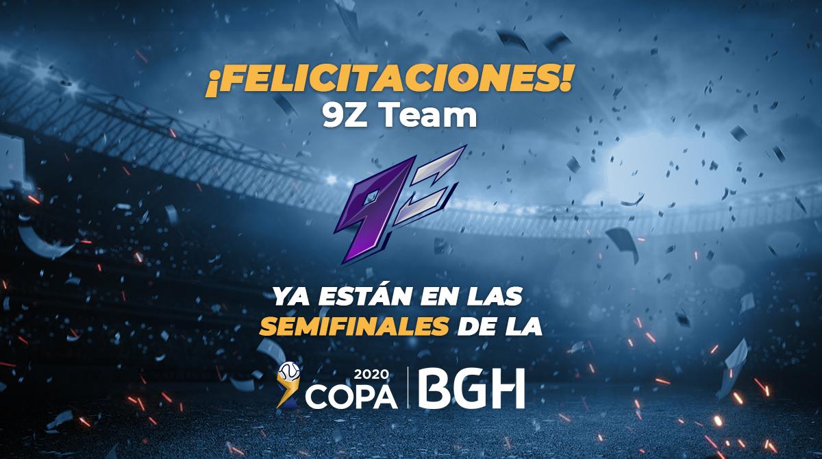 9z Team campeon Copa BGH Torneo 3