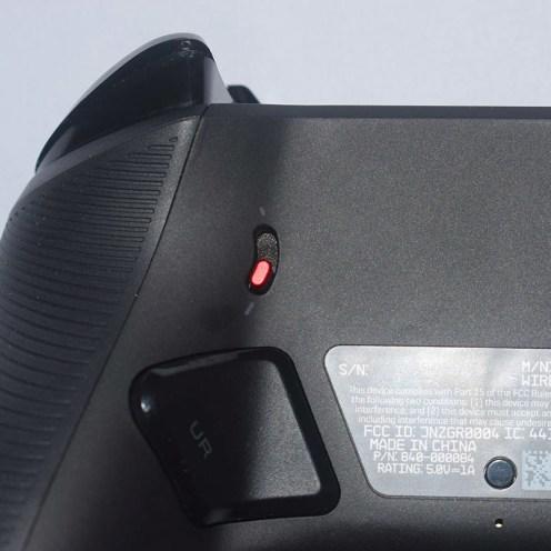 Astro C40 TR posterior detalle de perillas www.culturageek.com.ar-2
