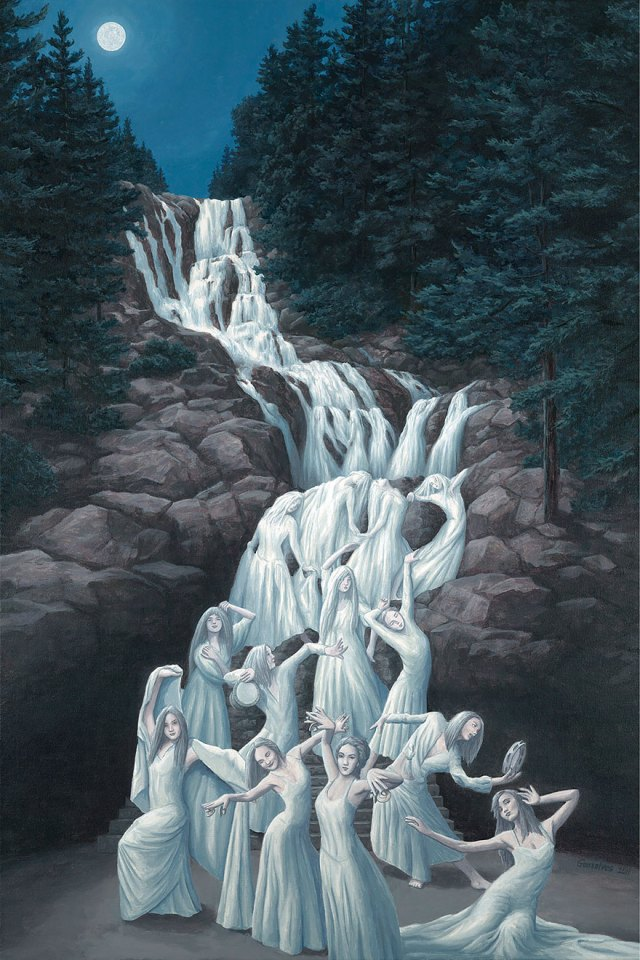 Rob Gonsalves pintura ilusion optica surrealismo 4