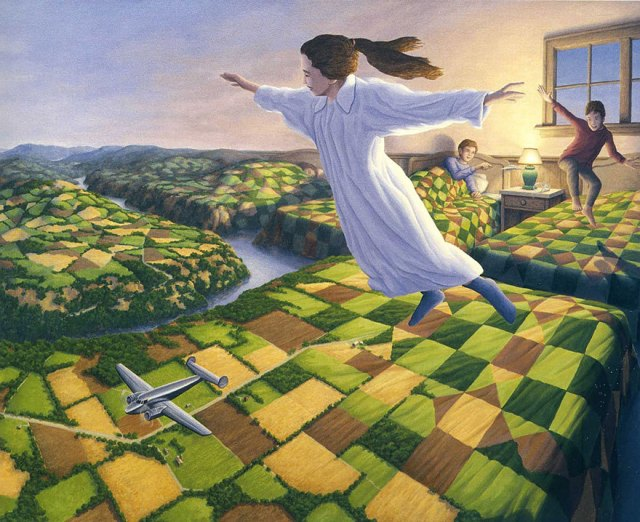 Rob Gonsalves pintura ilusion optica surrealismo 5