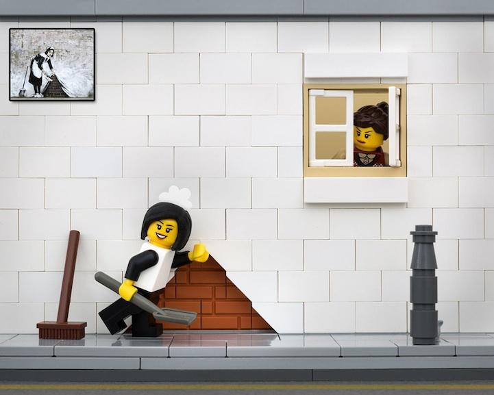 Banksy LEGO 2