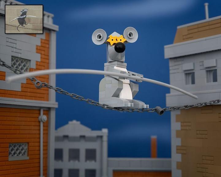 Banksy LEGO 6