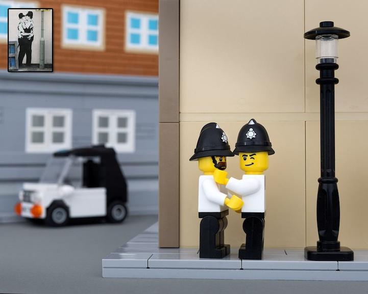Banksy LEGO 7