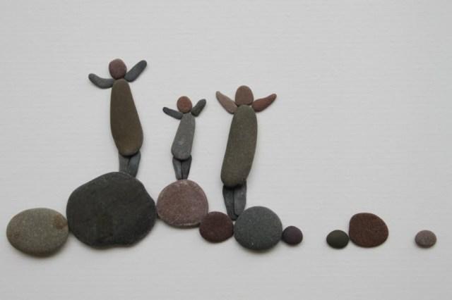 Sharon Nowlan sencillas esculturas piedras 13