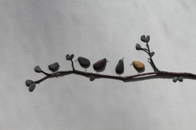 Sharon Nowlan sencillas esculturas piedras 5