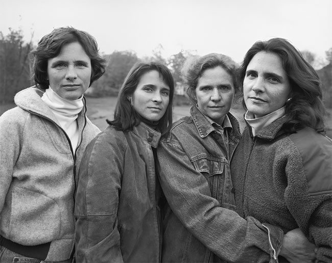 Nicholas Nixon hermanas Brown 15