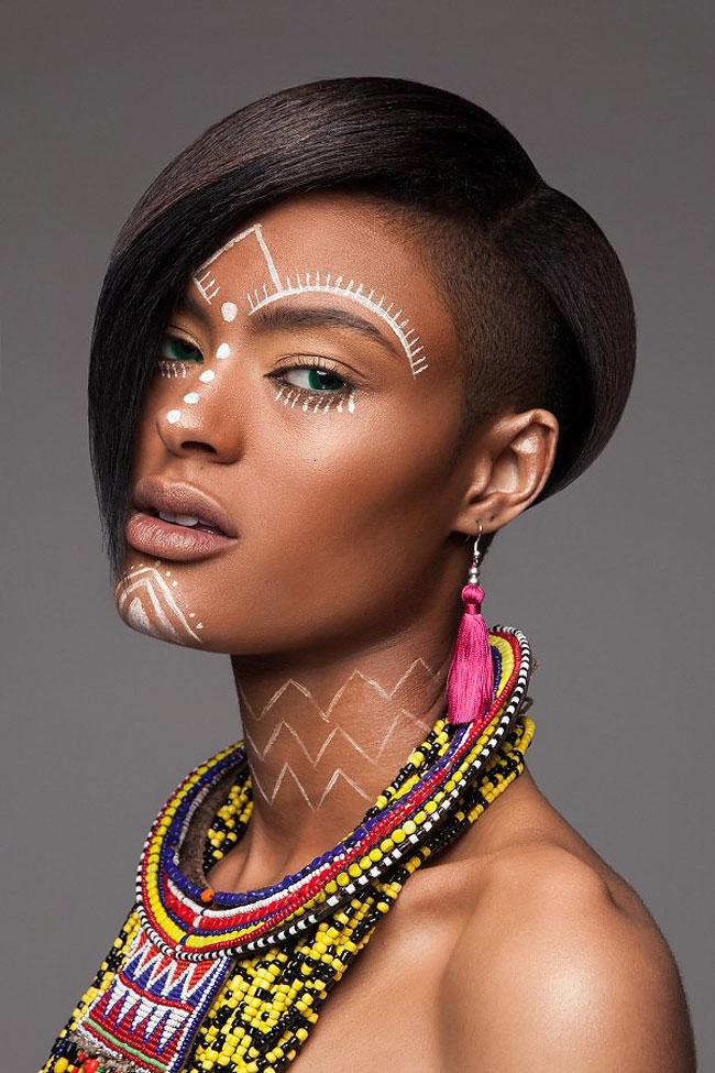 Lisa Farrall peinados africanos 14