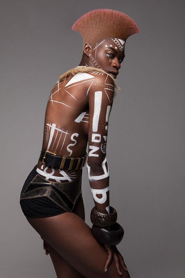 Lisa Farrall peinados africanos 6