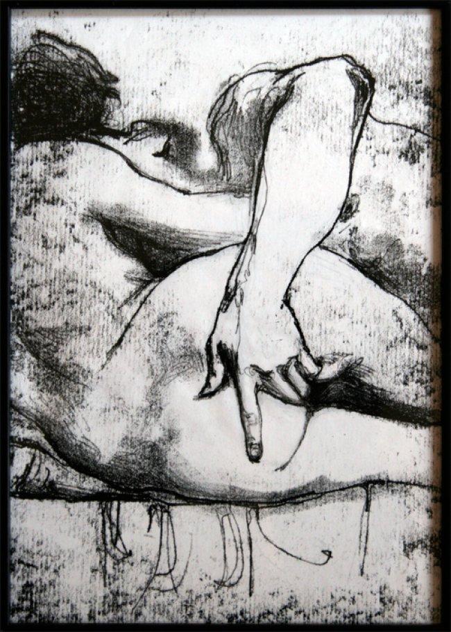 Kati Verebics pintura erotica