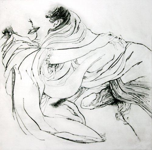 Kati Verebics pintura erotica 1