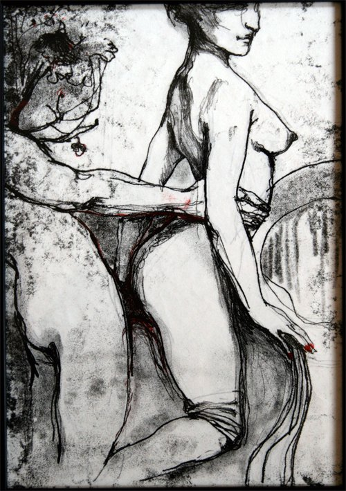 Kati Verebics pintura erotica 5