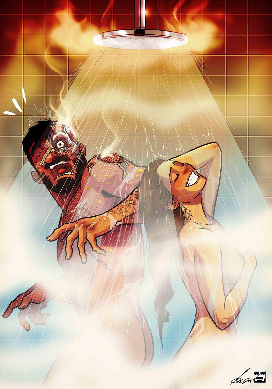 Yehuda Adi Devir simpaticas ilustraciones amor 2