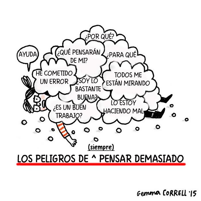 Gemma Correll depresion ansiedad ilustracion 2