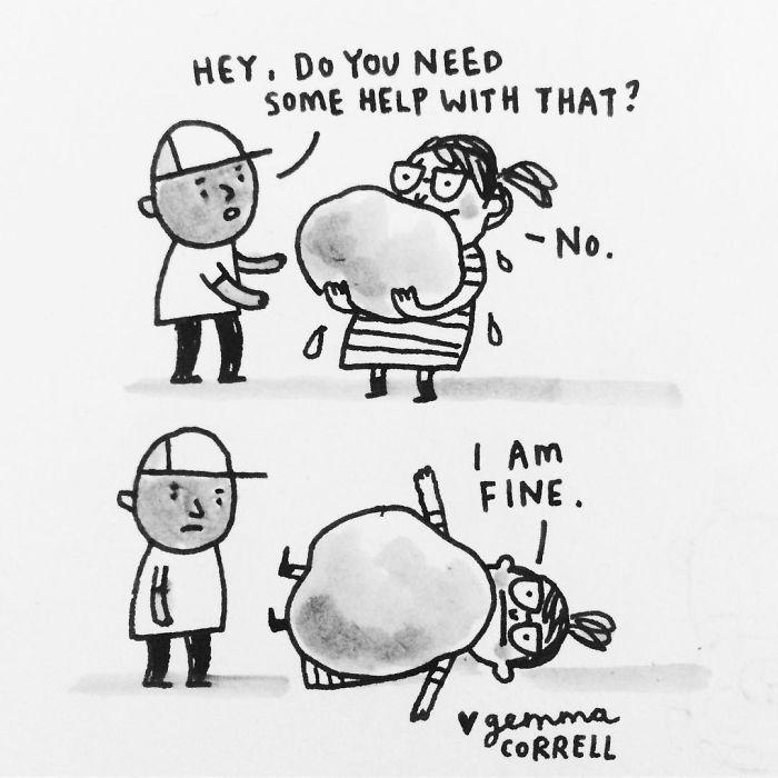Gemma Correll depresion ansiedad ilustracion 24