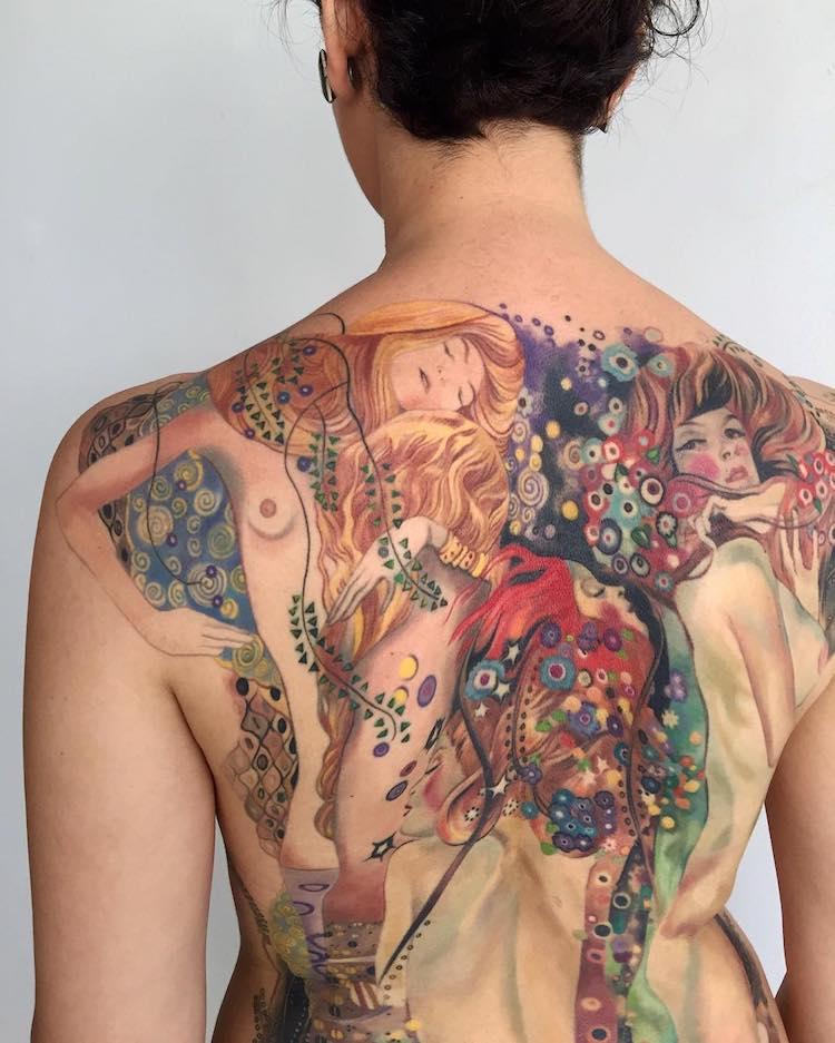 art history tattoos culturainquieta11