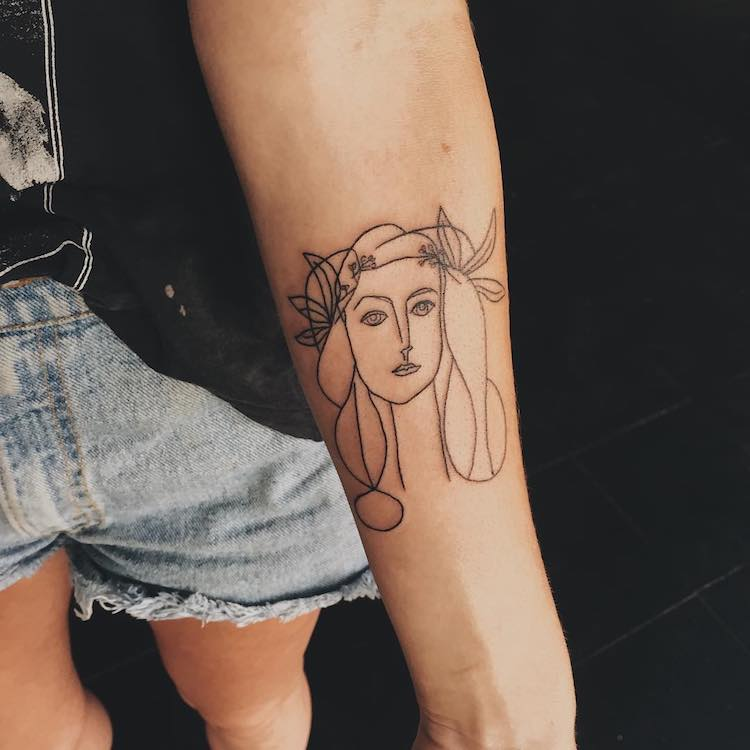 art history tattoos culturainquieta24