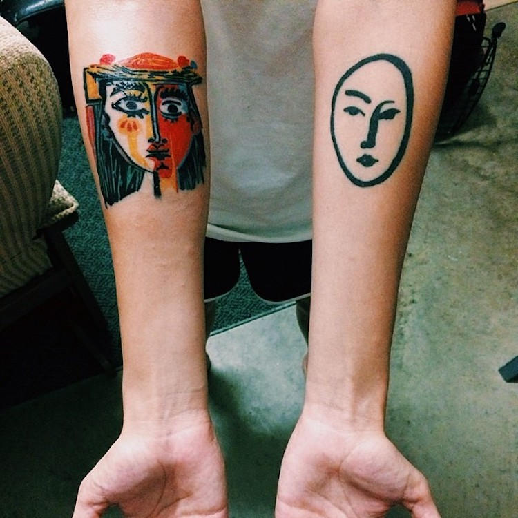 art history tattoos culturainquieta7