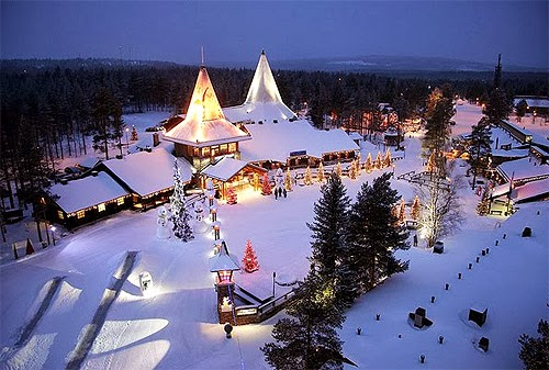 Casa de Santa Claus en Finlandia