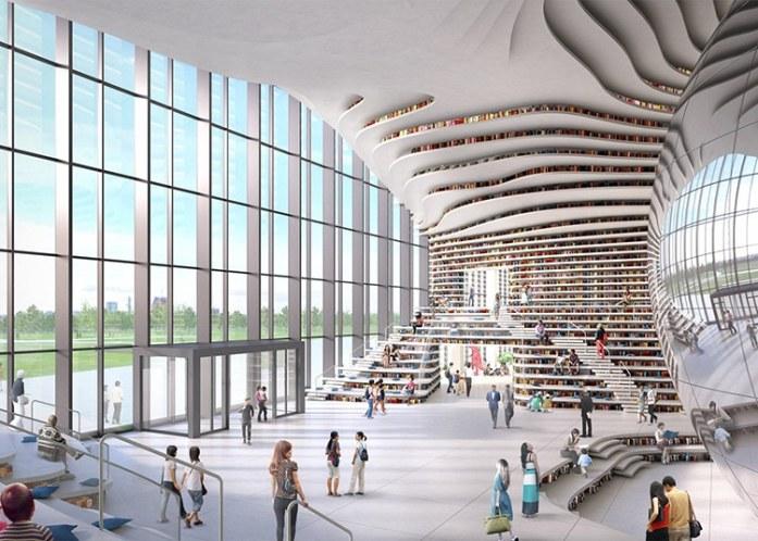tianjin binhai library culturainquieta