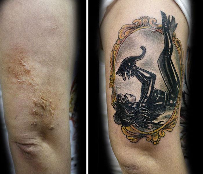 Flavia Carvalho violencia domestica tattoo3