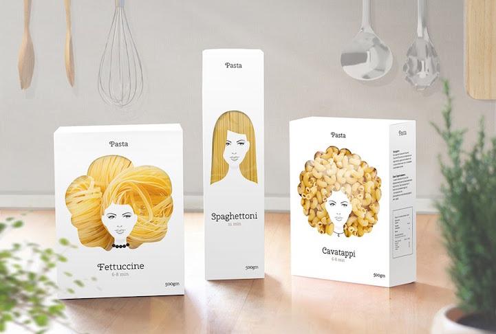 Nikita Konkin pasta hair packaging 4