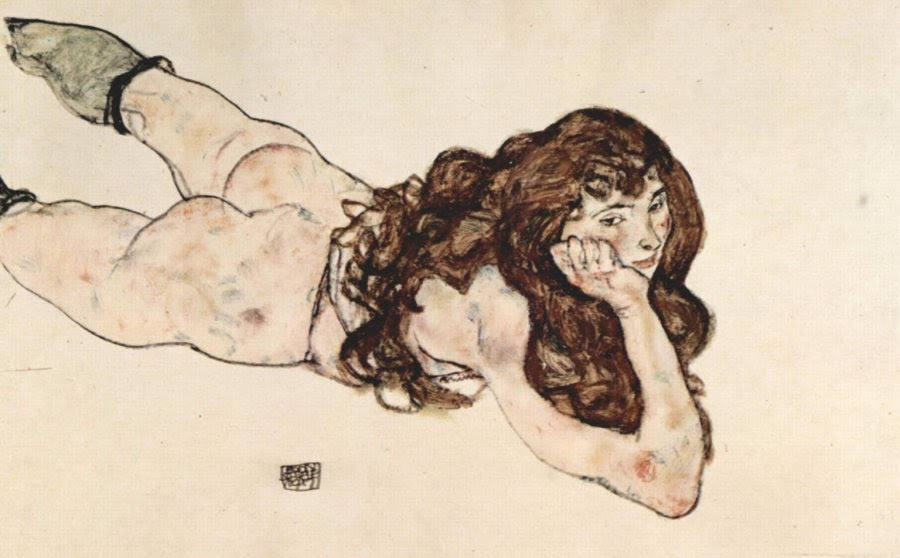 Egon Schiele erotica erotic art 2