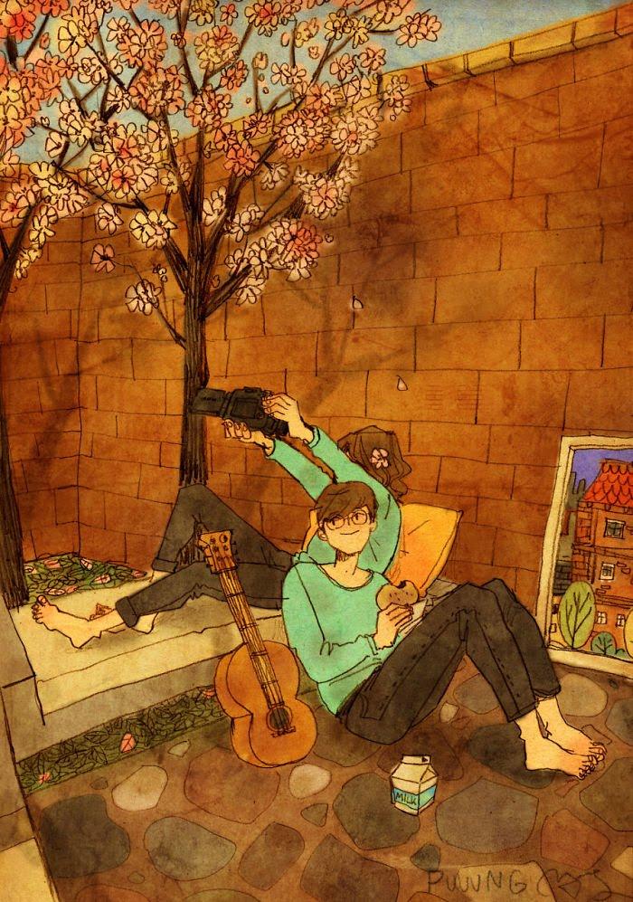 Puuung ilustraciones amor15