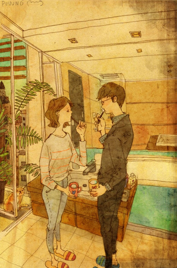 Puuung ilustraciones amor16