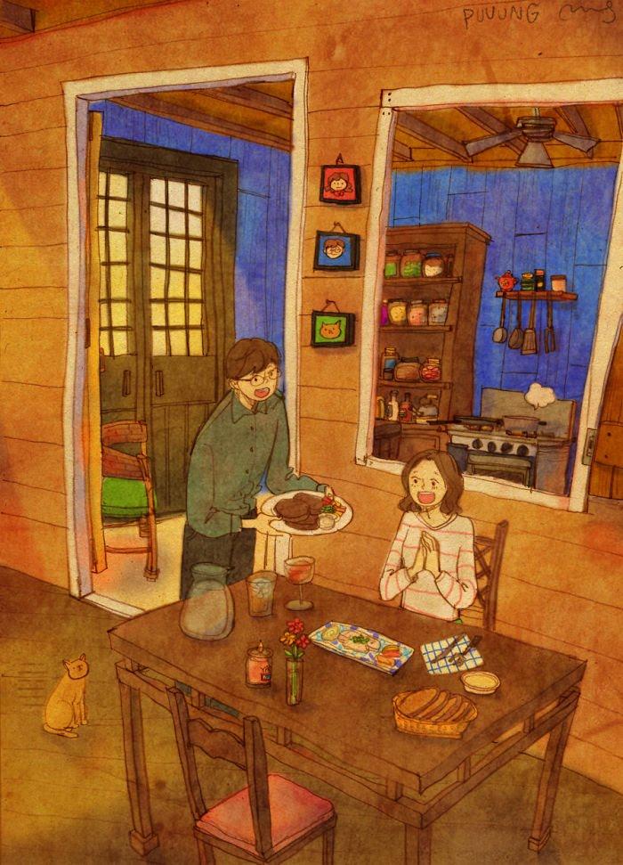 Puuung ilustraciones amor17