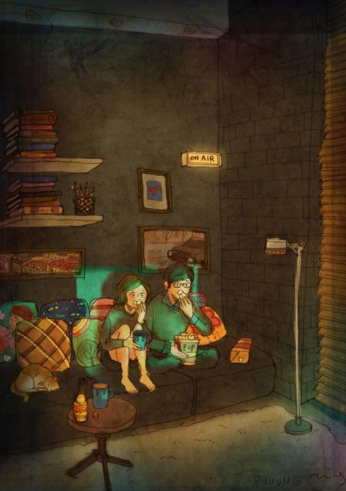 Puuung ilustraciones amor5