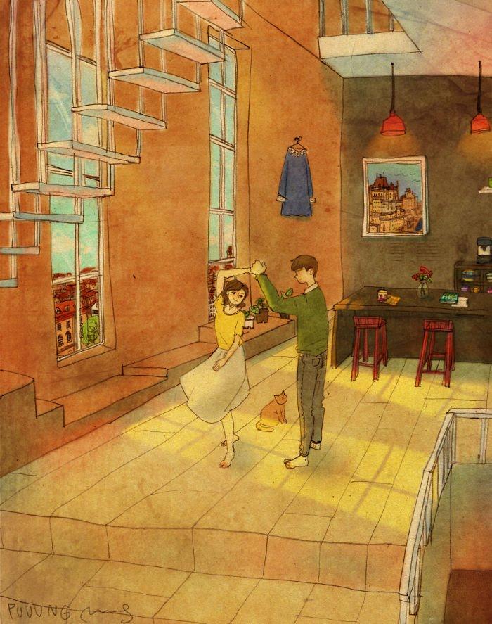 Puuung ilustraciones amor7