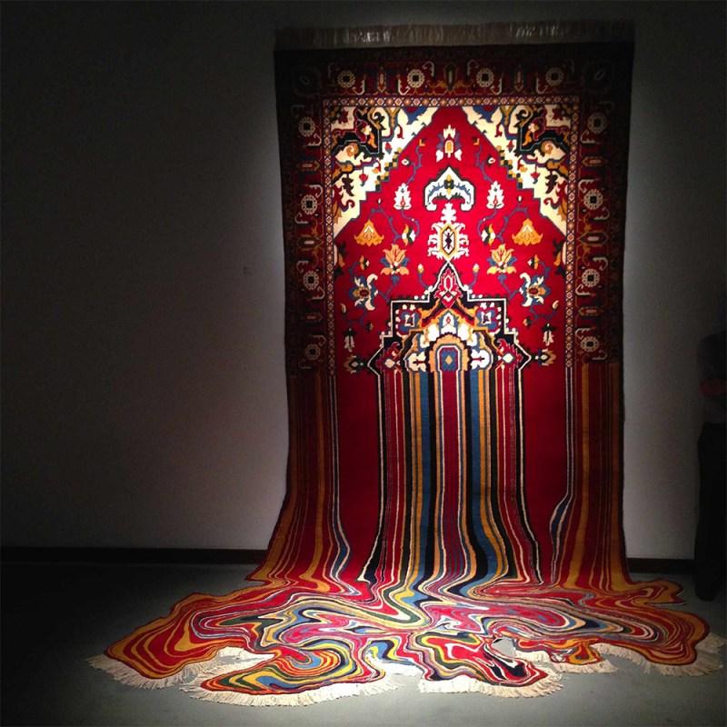 Faig Ahmed textile traditional Azerbaijani rugs 2