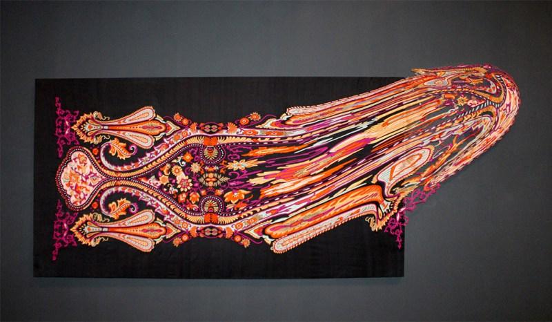 Faig Ahmed textile traditional Azerbaijani rugs 9