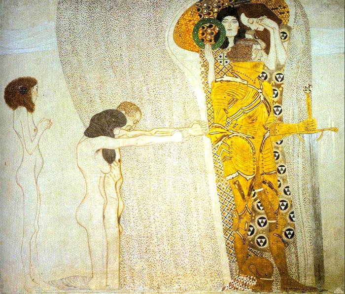 Inge Prader Gustav Klimt LifeBall Vienna7