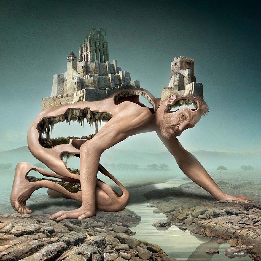 Igor Morski oscuras surrealistas ilustraciones 14