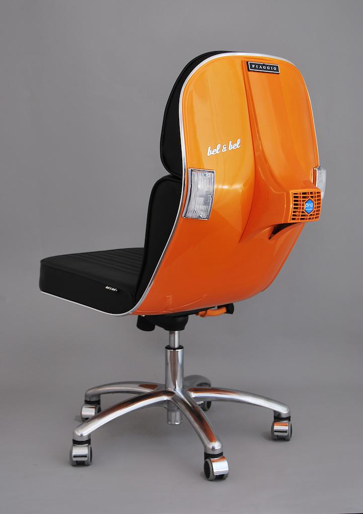 Bel Bel Vintage Vespa design chair 11