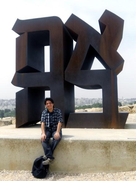 Carlos Reyes, de nuestro Instituto.