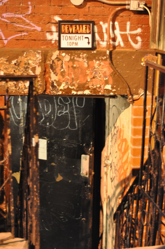 An undisclosed underground location for Burlesque Revealed