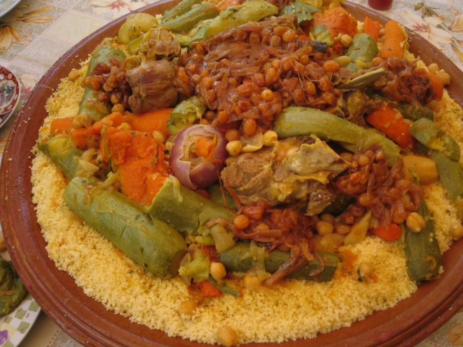 COUSCOUS AS A MOROCCAN NATIONAL DISH (2/2)