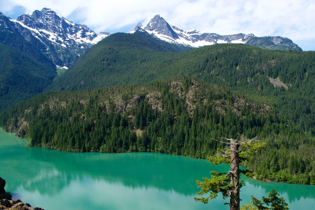 Lake Diablo, North Cascade Mountains, Washington