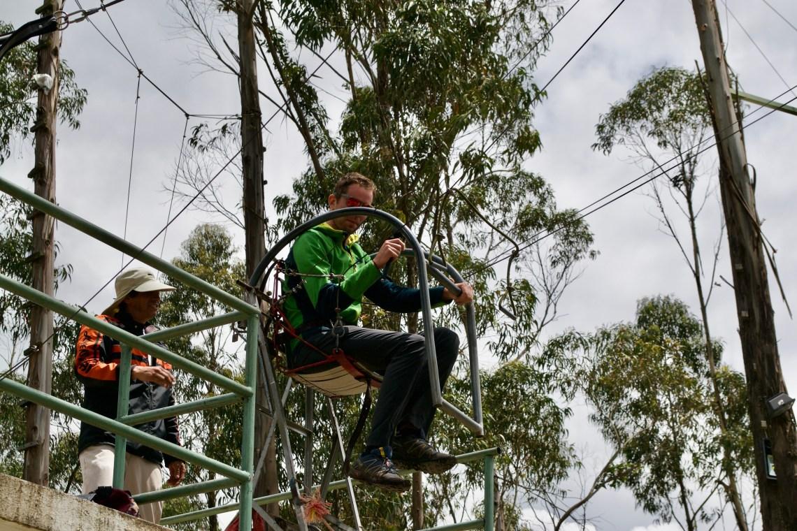 Cuenca Mirador Del Turi Ecuador El Columpio Swing