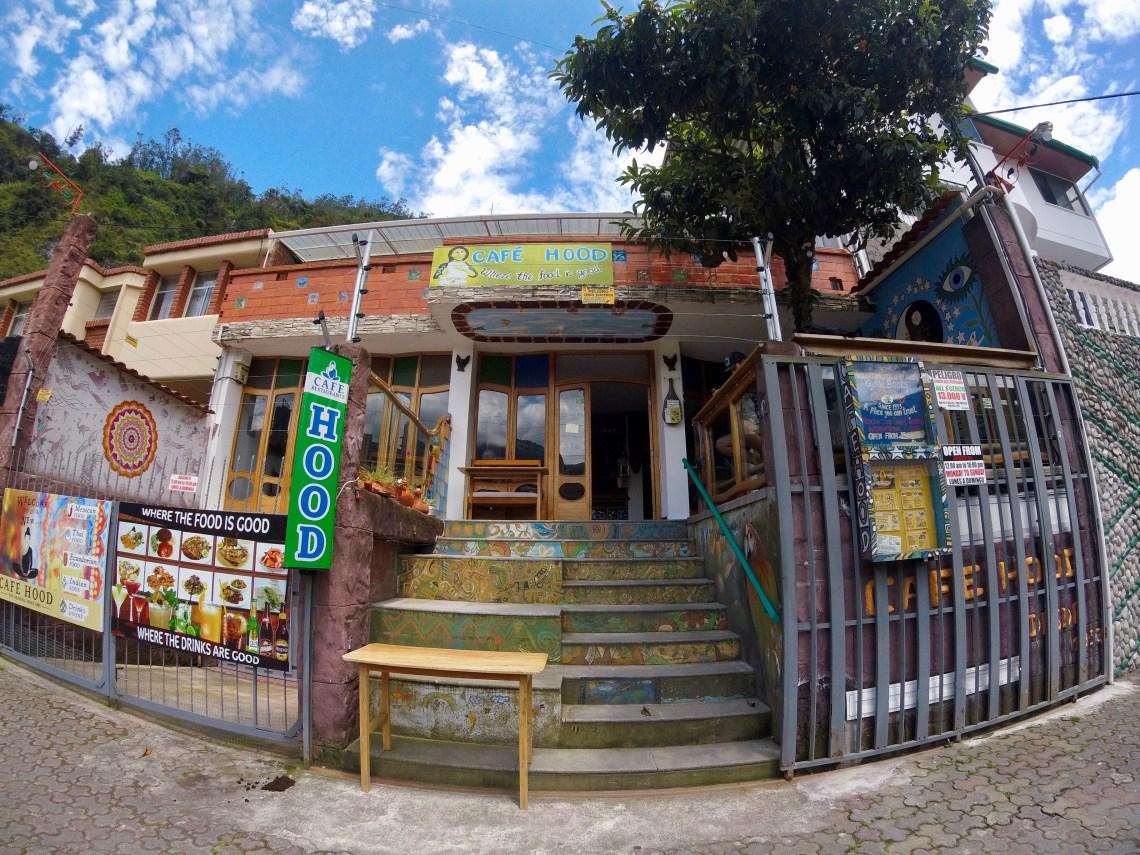 Cafe Hood, Banos, Ecuador
