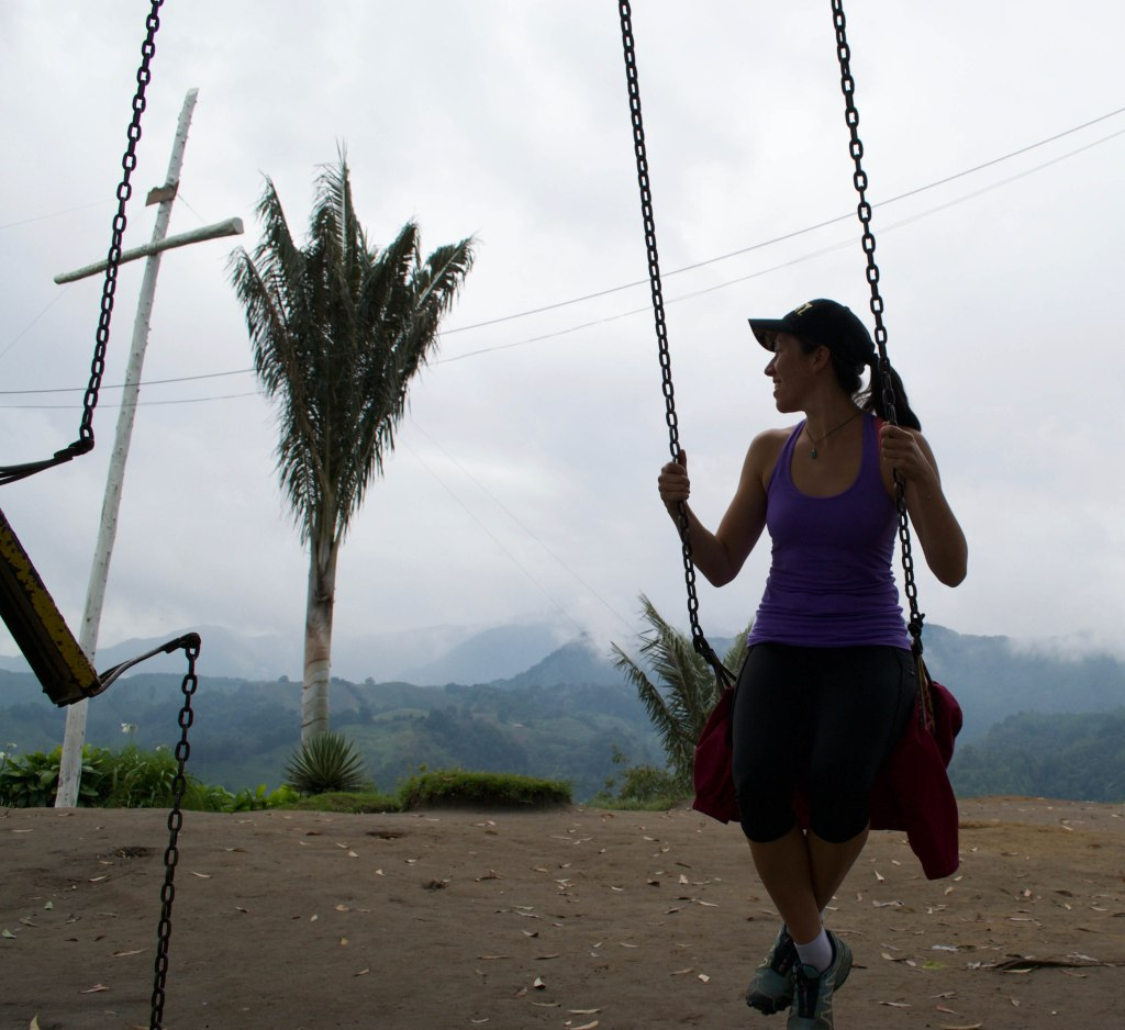 Swinging in Salento, Colombia
