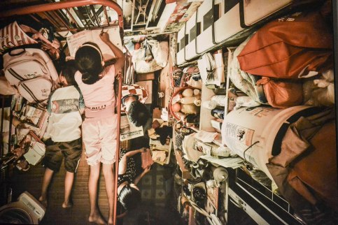 Life in Hong Kong as a family of six in a tiny box-like space.