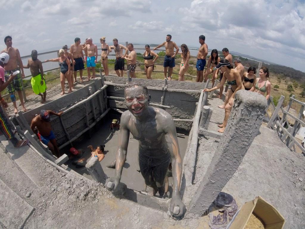 Volcan Del Lodo El Totumo - Mud Volcano; Cartagena, Colombia