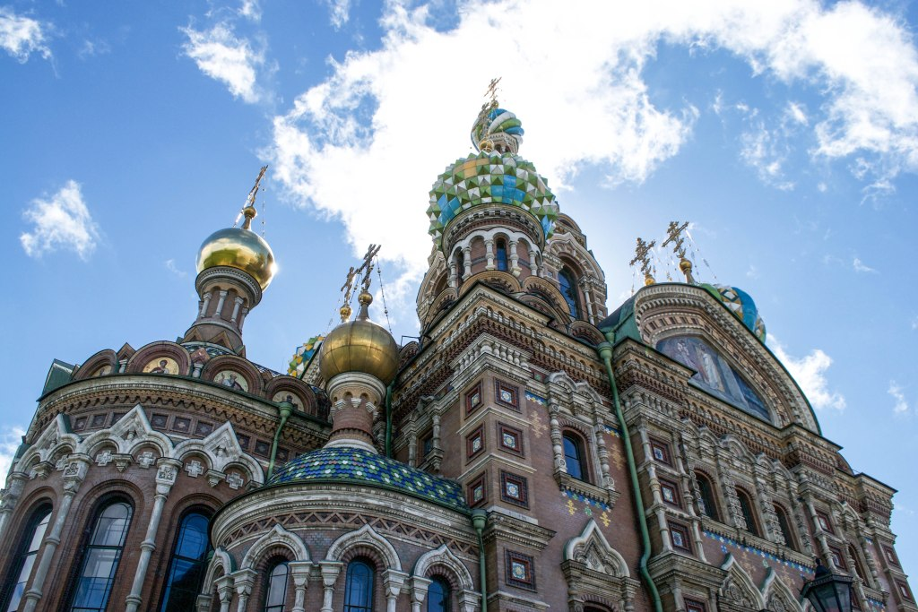 Church of the Museum on Spilled Blood, St. Petersburg, Russia