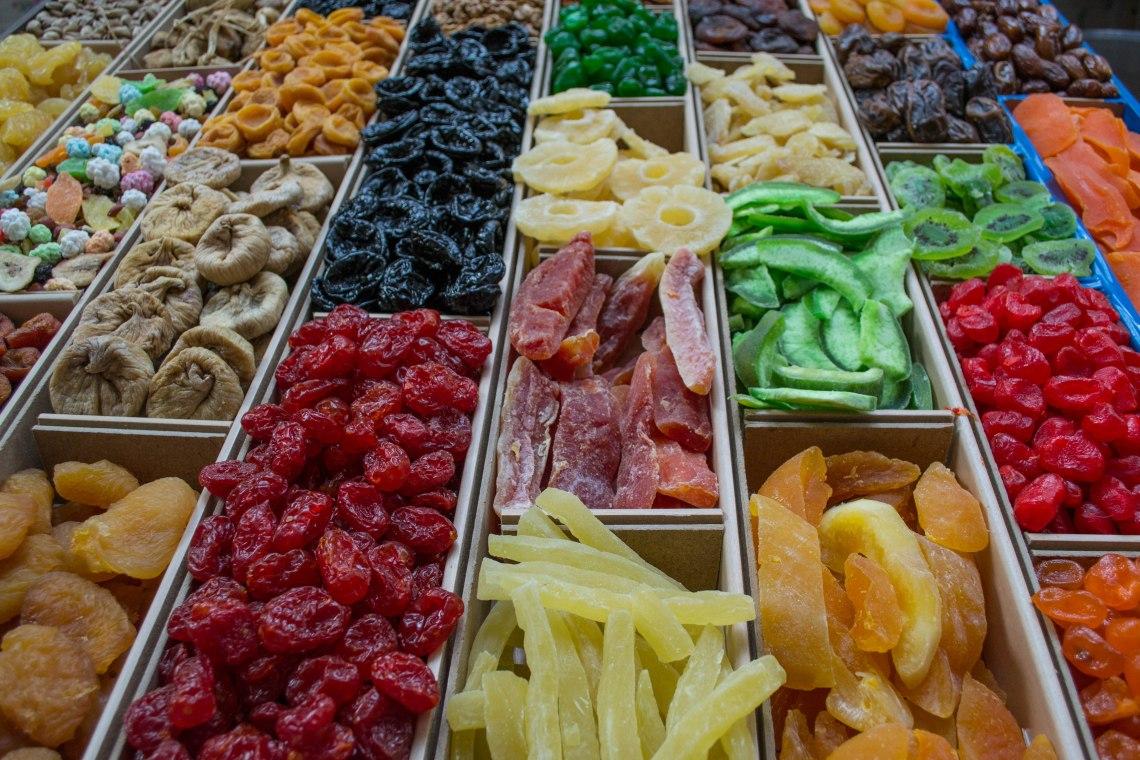 Dried Fruits - Kazan Market, Russia