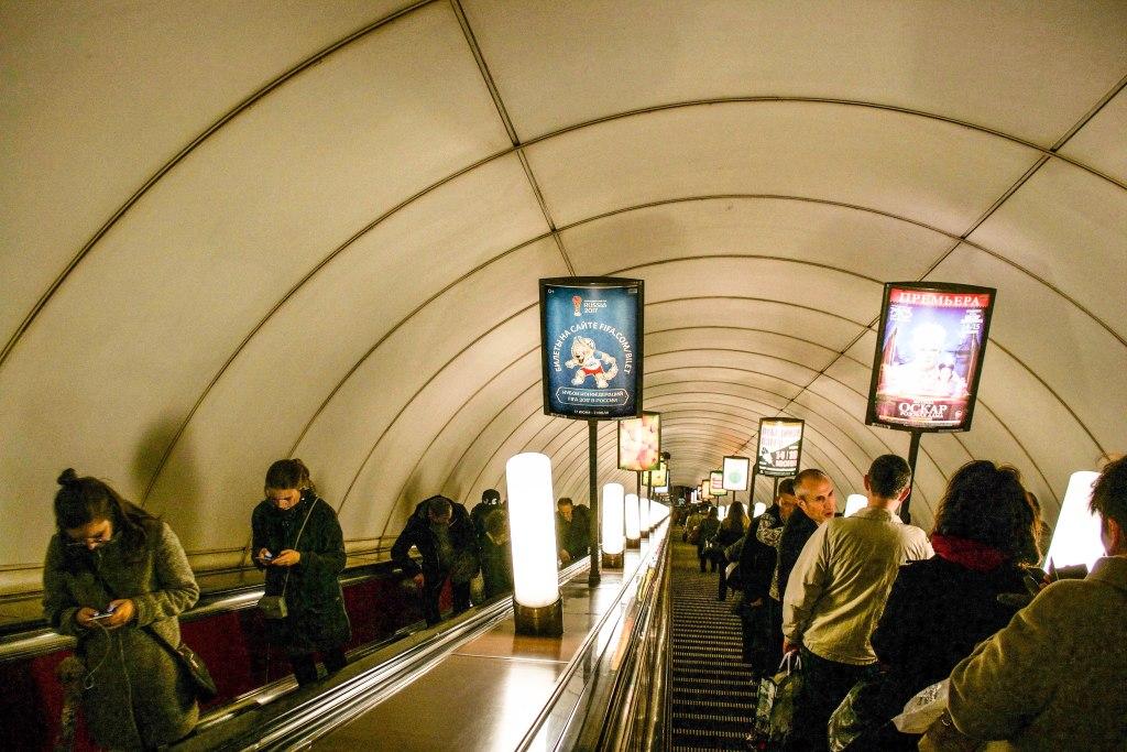 Saint Petersburg Metro, Russia