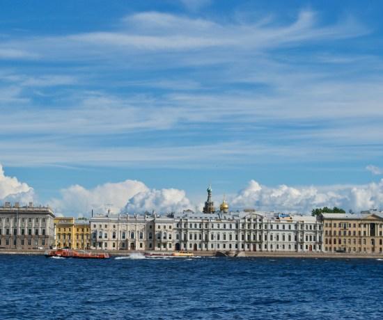 River Cruise, Saint Petersburg, Russia