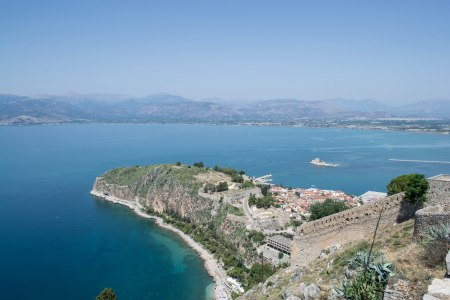 Palamidi Fortress Sea - Nafplio, Greece